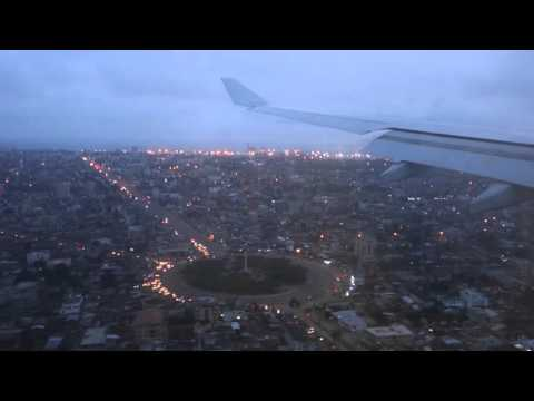 Landing at Cotonou Airport