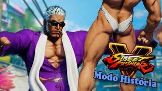 URIEN, O Semi-Deus de Tanguinha - Street Fighter 5 História