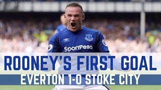 WAYNE ROONEY'S FIRST COMPETITIVE EVERTON GOAL SINCE 2004