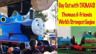 Thomas and Friends Day out with Thomas - World's Strongest Engine Kids Toys Thomas the Tank Engine