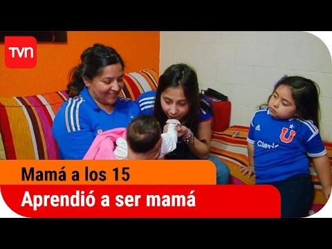 Mamá a los 15 T03E02 Una niña que aprendió a ser mamá