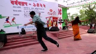 Mohit Monica RUET BOISHAKHI DANCE