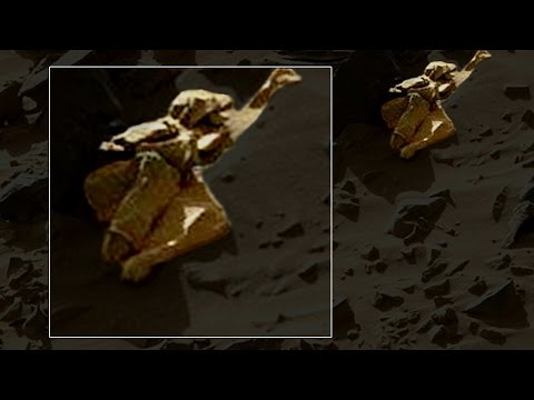 Must See! - MARS Humanoid Clearest Image Ever? (W/Supporting Evidence)