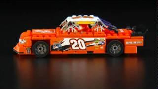 NASCAR FedEx, Home Depot, Go Daddy and K'NEX Cars