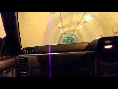 R31HOUSEコラボ柿本マフラー+タコ足(安価品)のトンネル走行。