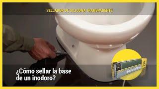 Aplicación: Sellado de la base de un inodoro