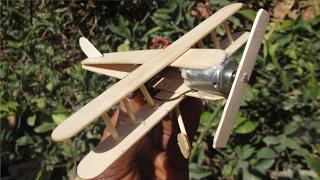 كيف تصنع طائرة صغيرة بمحرك {بكل بساطة في المنزل}؟؟؟