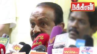 Vaiko attack Chandrakumar   DMDK Internal Party Fights   TN Elections 2016