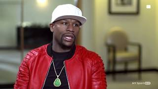 Floyd Mayweather speaks about Conor McGregor ahead of August's superfight