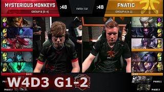 Fnatic vs Mysterious Monkeys | Game 2 S7 EU LCS Summer 2017 Week 4 Day 3 | FNC vs MM G2 W4D3
