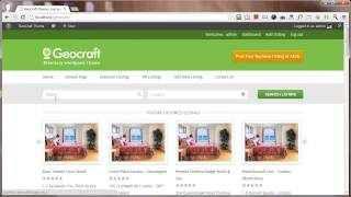 GeoCraft Business Directory Listings WordPress Theme by InkThemes