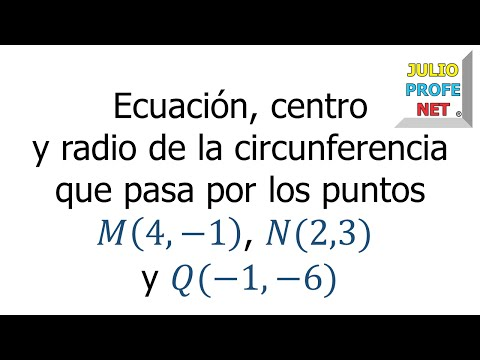 Ejercicio 5 de Circunferencia
