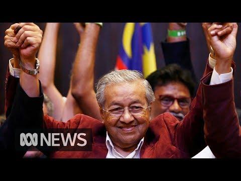 Malaysia election shock Mahathir returns