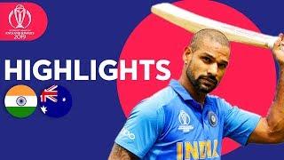 India vs Australia - Match Highlights | ICC Cricket World Cup 2019