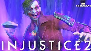 THE JOKER'S EPIC NEW/OLD SUPER MOVE ABILITY! - Injustice 2