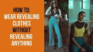 WEAR REVEALING CLOTHES WITHOUT REVEALING |  How To Wear Too Short Clothes | Dolly Singh