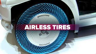 CNET On Cars - Road to the Future: Airless tires