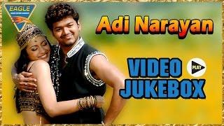 Adi Narayan Movie || Video Songs Jukebox || Vijay, Trisha Krishnan || Eagle Hindi Movies