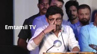 RJ Balaji Comedy Speech About TamilRockers At Ivan Thanthiran Audio Launch