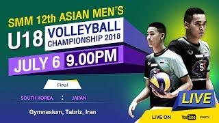 South Korea vs Japan   Final   SMM 12th ASIAN MEN