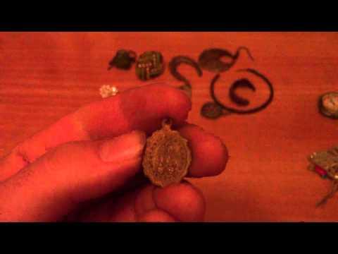 Metal detecting-year 2010 and 2011- junk rings, jumk earings, junk jewellery
