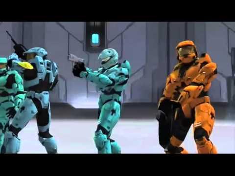 Halo Reds vs Blue la mejor pelea