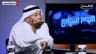 دموع الفنان سعد الفرج على الكويت