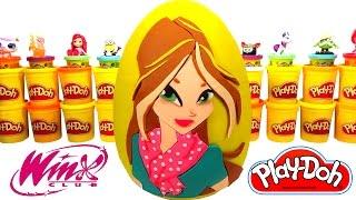 Winx Flora Sürpriz Yumurta Oyun Hamuru - Cicibiciler, MLP, LPS, Sünger Bob, Frozen, Hello Kitty