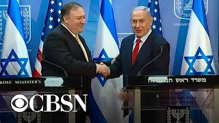 Pompeo and Netanyahu push continued pressure on Iran