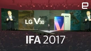 LG V30 Unveil at IFA 2017 in Under 8 Minutes