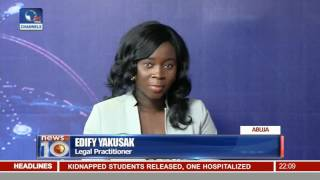 News@10: NJC Continues Meeting In Abuja 12/10/16 Pt 1