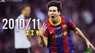 Lionel Messi ● 2010/11 ● Goals, Skills & Assists