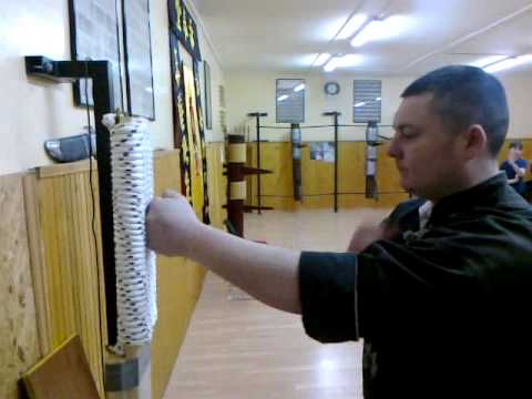 Wing Chun Iron Fist training SiFu Koviljac GYM