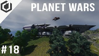 Space Engineers | PLANET WARS - 18 | The Helicarrier!
