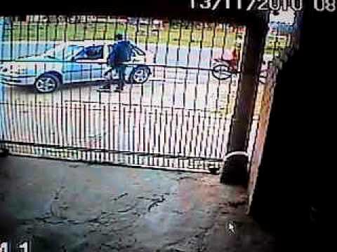 H.omem é assasinado em frente as cameras de segurança em pelotas