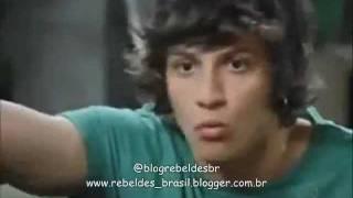 Rebelde Brasil - Tomás conversa com Carla no porão e diz que a ama (25/01/2012)