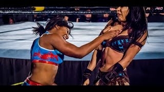 Girls wrestling new wwe -  athena vs hania