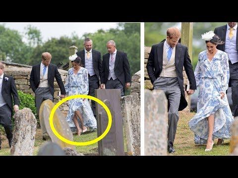 Prince Harry saved Meghan Markle from a fall like