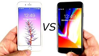 iPhone 6S vs iPhone 8 Speed Test!
