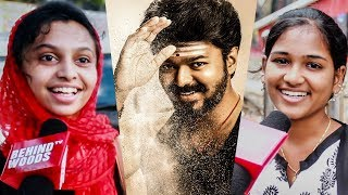 Thalapathy VIJAY! | Public's Emotional Responses on the Mersal Star! |DC43