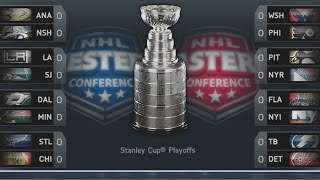 2015-2016 NHL PLAYOFFS Simulation - NHL Legacy