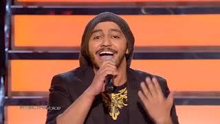 ذا فويس - عبد الرحمن المفرج - ما عاد بدري - مرحلة العروض المباشرة - احلي صوت The Voice