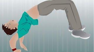 تعلم حركة السوستة وحركة العجلة بكل سهولة مع النسر KICK UP AND CARTWHEEL TUTORIAL