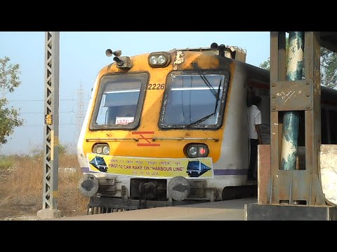 HISTORIC MOMENT - First 12 Car LOCAL TRAIN on HARBOUR LINE | MUMBAI LOCAL TRAINS