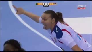 Cameroon vs Serbia 21:34 (9:20) First Half | Handball Women's Championship 2017