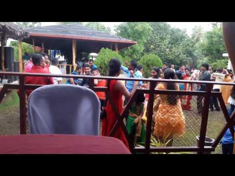 Cute Sri Lankan Girls Dancing on Home Comming