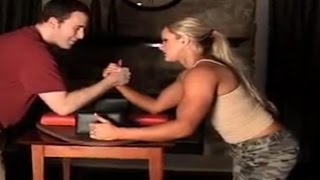 Epic Mixed Armwrestling Match | Best Mixed Armwrestling