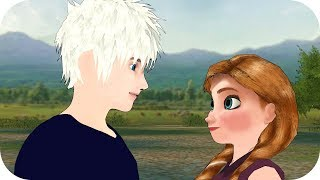 Jack Meets Anastasia ! Two Annas Ep 06 - Sisters Queen & Princess Animation