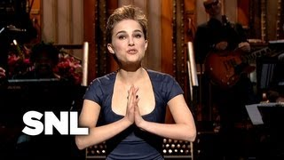 Natalie Portman Monologue - Saturday Night Live