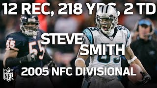 Steve Smith Torches Bears in the